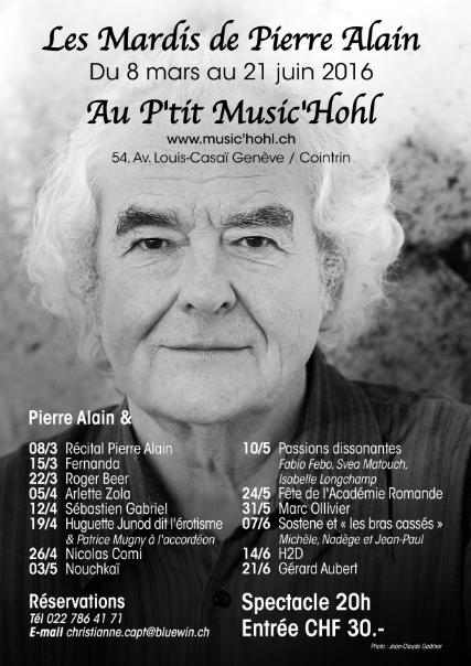 Affiche Pierre Alain