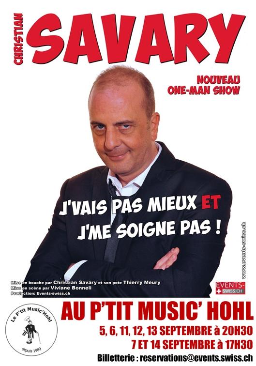 Christian Savary au Ptit Music'Hohl en septembre 2014